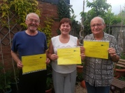 Volunteers from Poland certificates